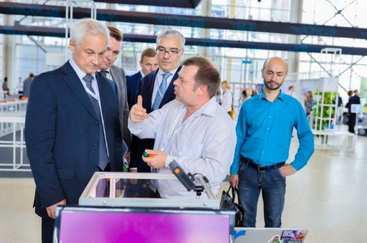 Робот Бабочка представлен на Форуме Стратегических Инициатив 2016 в Москве