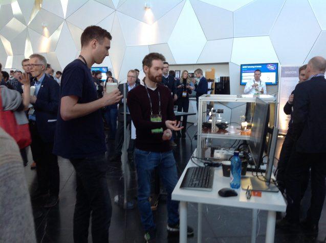Робот Бабочка на выставке Technoport (Норвегия)