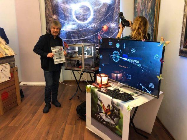 Балтийский конкурс: презентован школьный Робот Бабочка